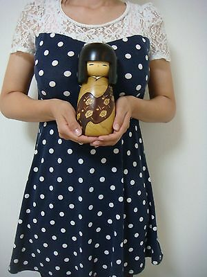 free shipping sosaku kokeshi doll 20.5 cm 8 inches by Usaburo