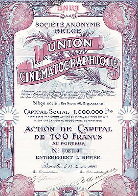 UNION Cinematographique, 1920 - Kino -