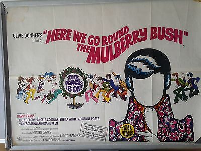Cinema Poster: HERE WE GO ROUND THE MULBERRY BUSH 1968 (Quad) Barry Evans