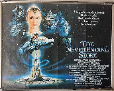 Cinema Poster: NEVERENDING STORY, THE 1985 (Quad) Noah Hathaway