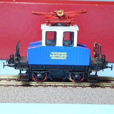 Bavarian WAS E 69 electric locomotive Privileged Dampftramway society Ep.1-3