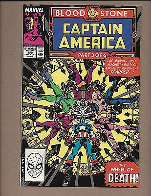 Captain America #359  (1968 1st Series)  1st. Brief Appearance of Crossbones. VF