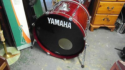 Yamaha Red Stage Custom Bass Drum - 23in x 18.5in