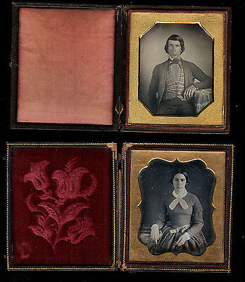 Two Sealed 1/6 Daguerreotypes - Free US Priority Ship