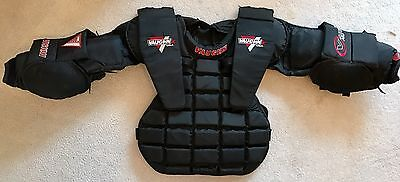 Vaughn V-Lite Pro Goalie Chest and Arm Pads Protector, Size Medium