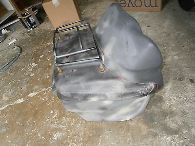 Bmw K1100 16V Lt K100  K75 Panniers Luggage Deluxe Top Box No Key