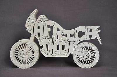 Africa Twin  Motorcycle Wooden Puzzle Toy NEW