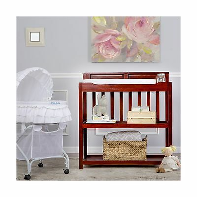 Dream On Me Zoey 3-in-1 Convertible Changing Table Cherry
