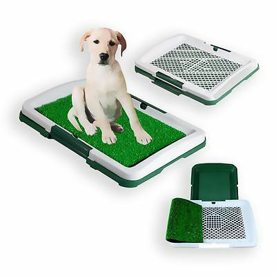 Dog Animal Puppy Pet Potty Training Pad Toilet Litter Mat Tray Grass Pee Pad