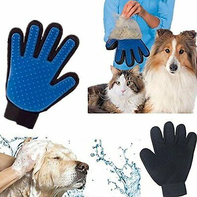True Touch Deshedding Glove brush for Gentle and Efficient Pet Grooming Hot