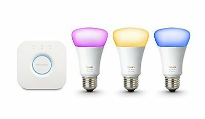 PHILIPS HUE White & Colour Ambiance Starter kit 10W E27 DIM A60 Richer colours