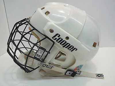 Vintage COOPER SK2000 S Hockey Helmet Mask Cage CCM JR Junior