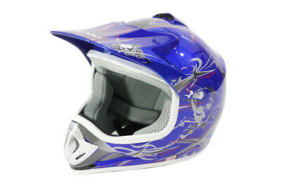 Nitro Motors Kinder Crosshelm Cross Helm Kinderhelm Kindercrosshelm Motorradhelm