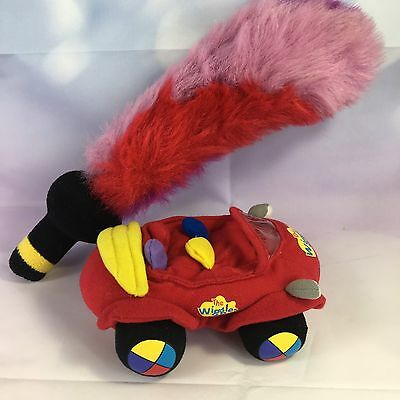 "The Wiggles  Plush Captain Feathersword 20"" Toy Sword & Big Red Car 6"""