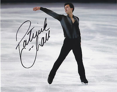 Patrick Chan Signed Autographed Skating  Olympics 8X10 Photo  Exact Proof