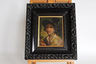 Antico quadro dipinto olio di LUIGI NONO XVIII secolo Antique oil painting 800