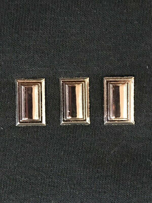 Star Trek Enterprise TV Series Commander Collar Rank Insignia Pips Metal Pins