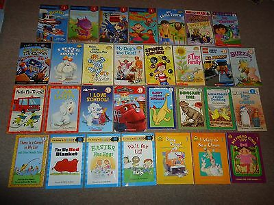 Lot 30 Level 1 Step Into Reading Ready-to I Can Read Home School I'm Going Zone