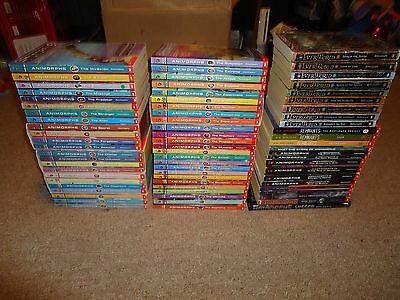 Lot 72 Animorphs Remnants Everworld Books K.A. Applegate Megamorphs Chronicles