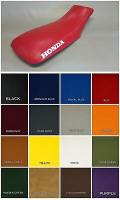 HONDA TRX300ex Seat Cover 1993-2005 Models  in 25 COLORS or 2-tone