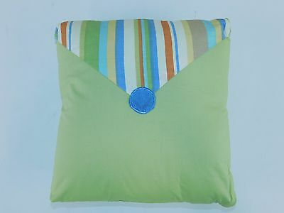 "Sumersault Heads or Tails Decorative Pillow 12"" x 12"" x 3"""