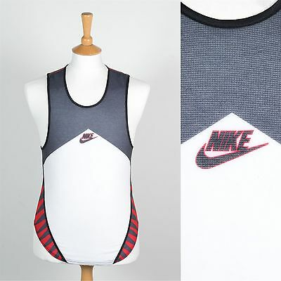Nike Made In The Usa Rare Vintage Vest Tank Gilet Athletics Run Jog 90's S