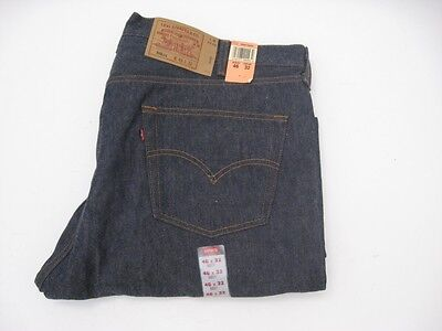 NWT DEADSTOCK Vintage 1990s Levi's 501 Jeans No Redline USA MADE Size 46 X 32