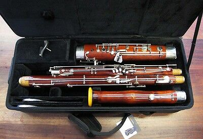 PreOwned SCHREIBER BASSOON - S16 - Repadded PERFECT - Ships FREE WORLDWIDE !!