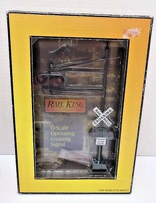 Mth 30-11010 Railking O Scale Operating Crossing Signal Nib