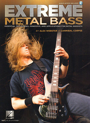 Alex Webster Cannibal Corpse Extreme Metal Bass Noten mit Download Code