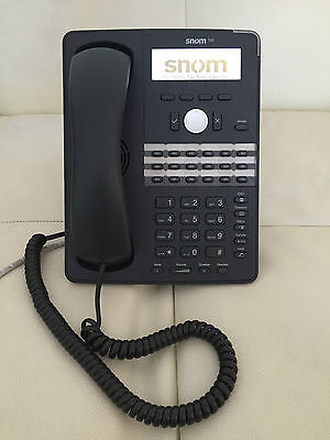 SNOM 720 IP HANDSET With UK power supply - 320 replacement