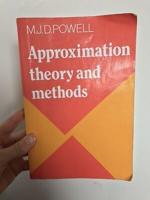 Approximation Theory and Methods by M. J. D. Powell (Paperback, 1981)