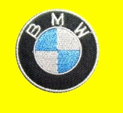 BMW 5 cm, Patch, écusson, embroidered, aufnäher, thermocollant, toppa.