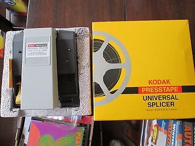 Vintage Kodak Presstape Universal Film Splicer D550 for 8mm, Super 8 & 16mm