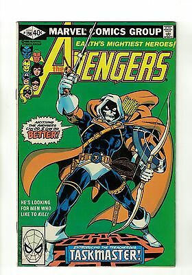 The Avengers Vol. 1 - #196 | 1st Full Taskmaster Appearance | Marvel - June 1980
