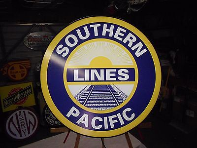 Southern Pacific Lines Railroad Lighted Sign