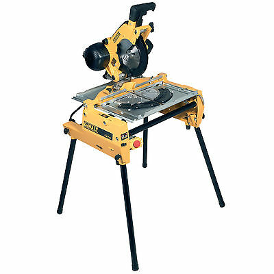 DeWalt DW743N Flip Over Combination Saw 110v