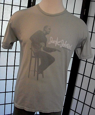 Jack Johnson - Sleep Through the Static- blues guitar adult tee shirt large l