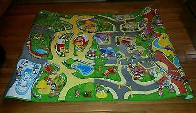 Little People Fisher Price Large foam rug play floor mat