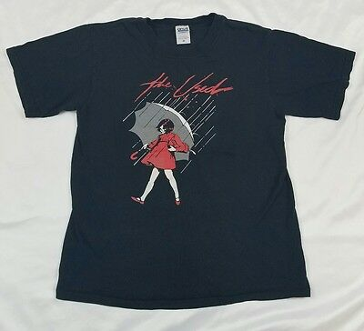 The Used Womens size Small Band Tee Skull Faced Girl holding Gas Can