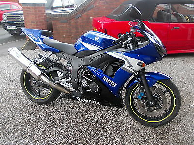 Yamaha Yzf R6 2005 Blue Excellent Ride