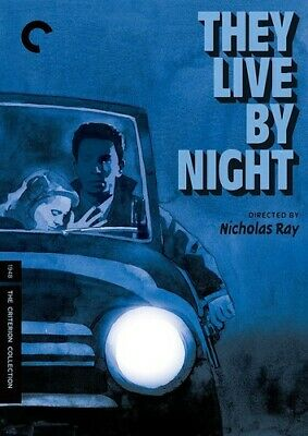 They Live By Night (2017, DVD NUEVO) (REGION 1)