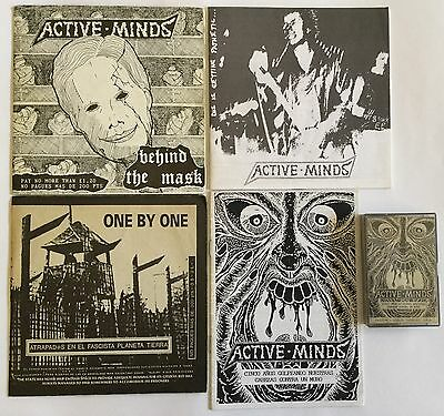 LOTE HARDCORE  U.K(ACTIVE MINDS-ONE BY ONE) 3Ep's + 1cassette