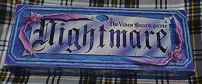 NIGHTMARE The Video Board Game - 1991 - Chieftain Games - 99.9% COMPLETE
