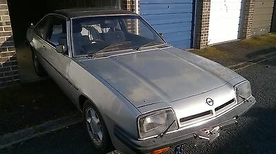 Opel Manta 2.0 SR Berlinetta Coupe Project c/w full GTE running gear & spares