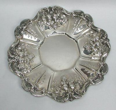 "Reed & Barton 1957 Francis I Sterling Silver 11 1/2"" Under Plate Platter #X569"