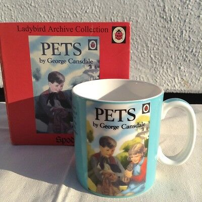 Ladybird Books Collection,Pets mug by Spode