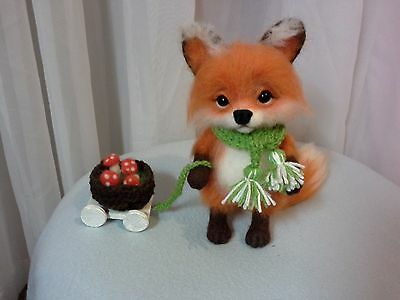 Little fox with a walk.Unique & exclusive Toy