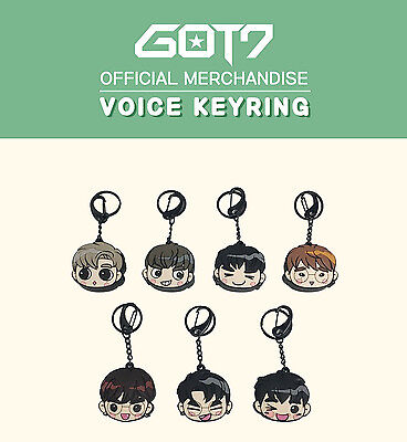 Got7 Got 7 Official Goods Voice Keyring Key Ring New