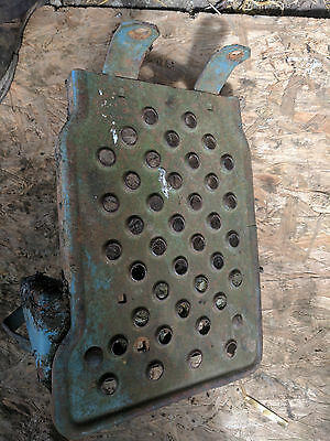 Left Hand Side / N / S Foot Plate - Removed From Fordson Major